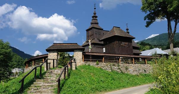 Fotogaleria, Drevene kostoliky, Zemplin, Vychodne karpaty